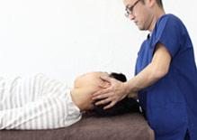 頚椎に対するオステオパシー